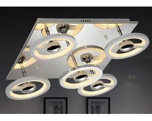 led异形现代简约卧室灯创意亚克力吸顶灯