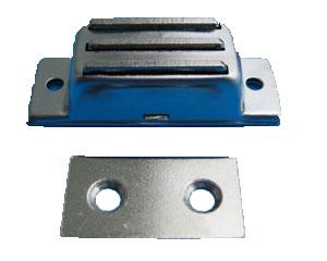 不锈钢外壳磁性橱柜门吸(正吸)
